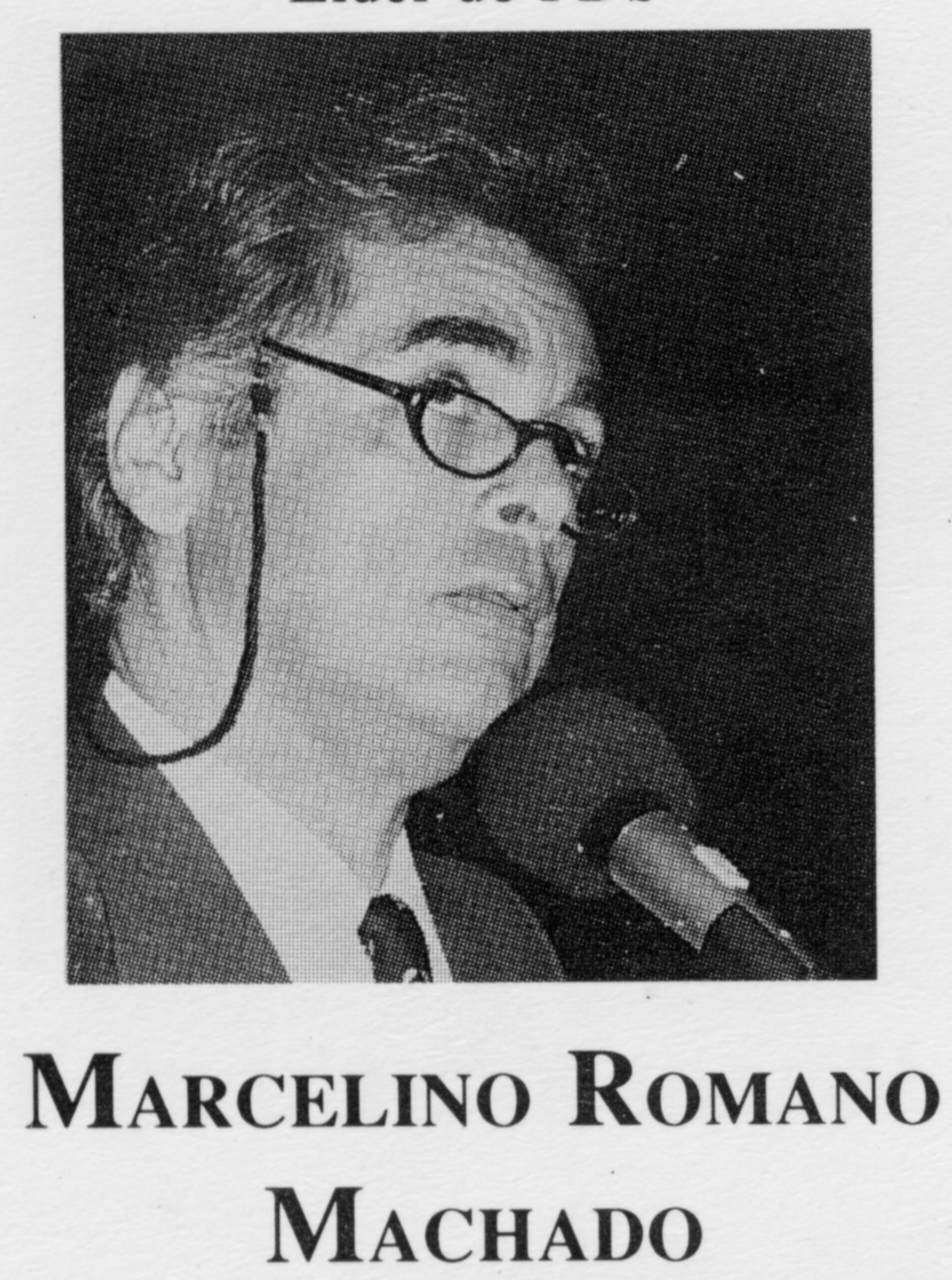 Marcelino Romano Machado