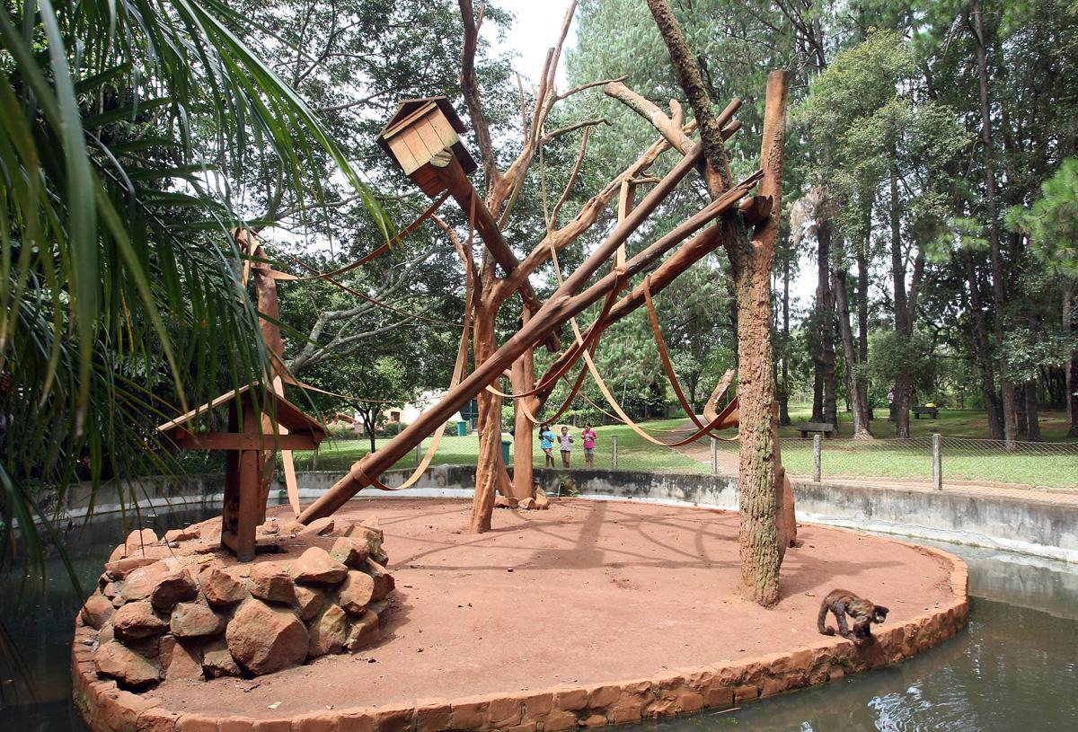 Parque ecológico em São Carlos
