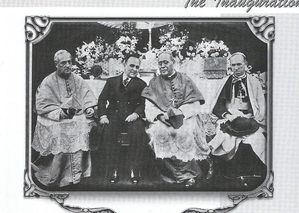 D. Bento Aloisi Masella, Geúlio Vargas, D. Sebastião Leme e D. Augusto Álvaro da Silva