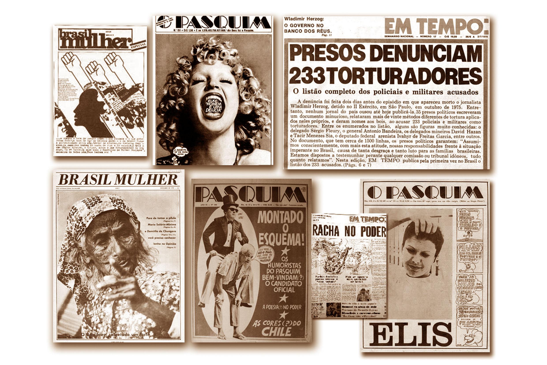 Principais jornais que resistiram à repressão