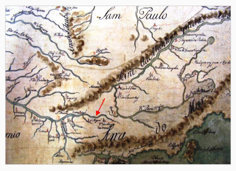 Mapa antigo de São Paulo<a style='float:right' href='https://www3.al.sp.gov.br/repositorio/noticia/N-01-2014/fg158166.jpg' target=_blank><img src='/_img/material-file-download-white.png' width='14px' alt='Clique para baixar a imagem'></a>