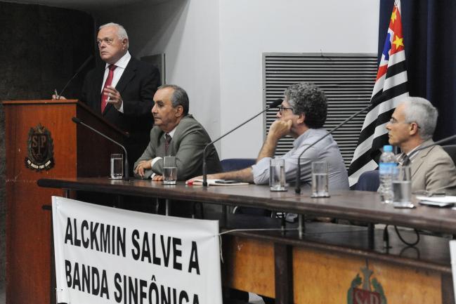 Audiência debate medidas para evitar extinção da banda sinfônica paulista