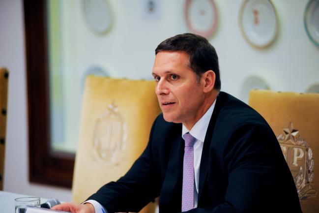 Fernando Capez no Palácio dos Bandeirantes
