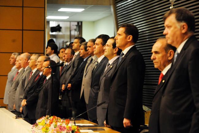 Reforma política foi debatida por atual Mesa Diretora
