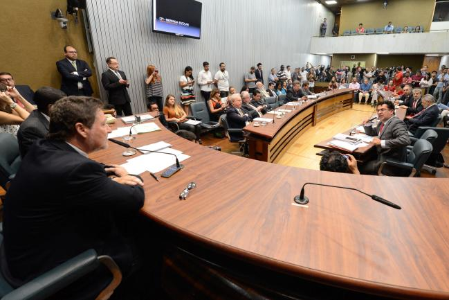 Reunião final da CPI da Merenda