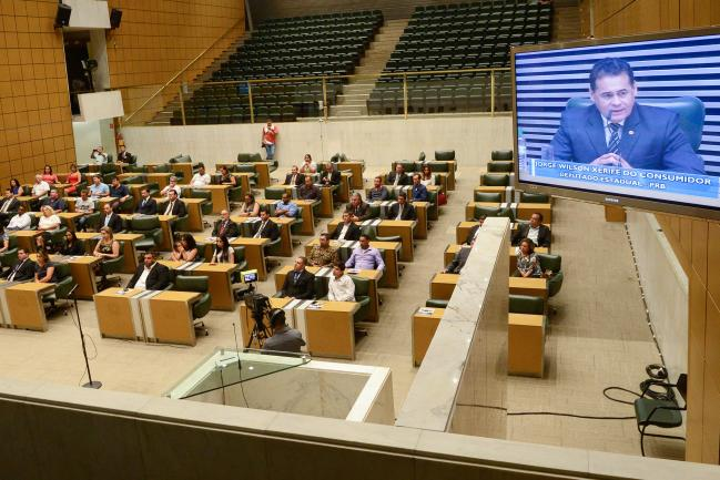 Plenário JK da Assembleia .
