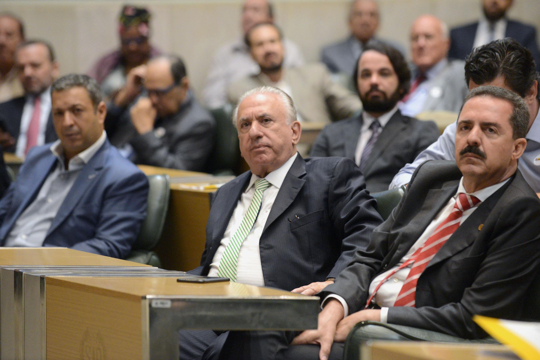 Ricardo Izar, Sebastião Miziara e Itamar Borges