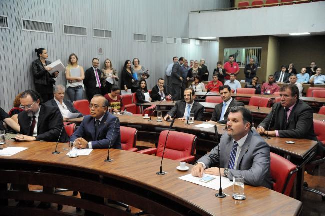 Presentes na reunião da Comissão Defesa dos Direitos do Consumidor