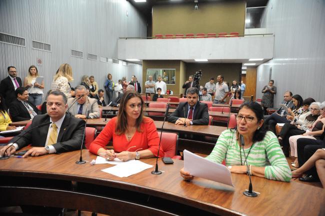 Reunião da comissão de Direitos Humanos