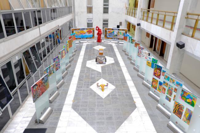 24 obras compõem a mostra do autor