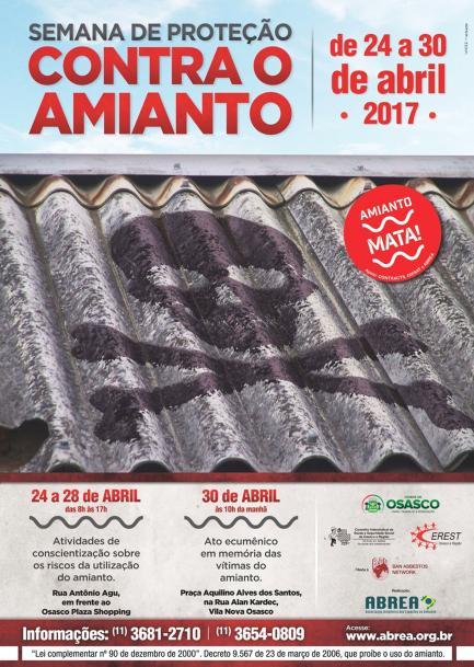 Semana de Proteção Contra o Amianto.