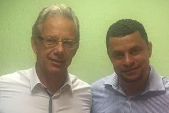 Edson Giriboni e Valmir da Silva.