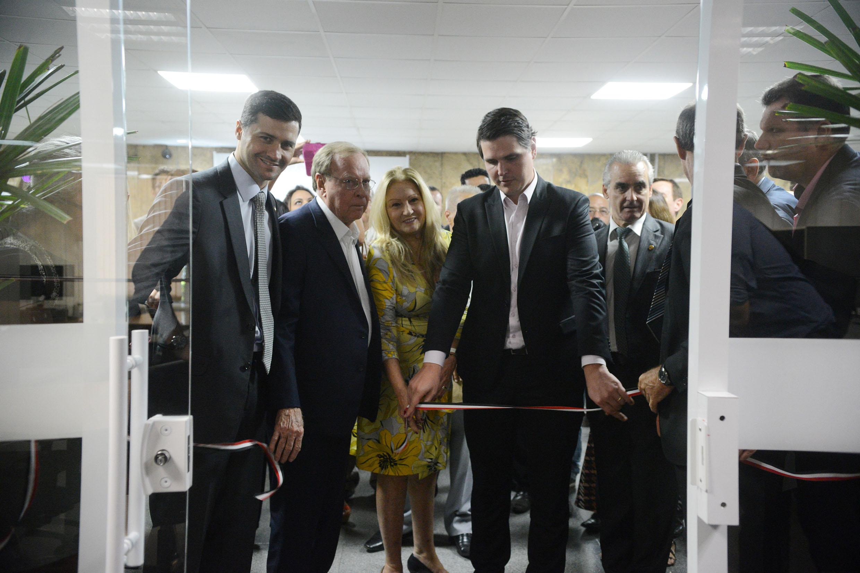 Inauguração da Sala de Municípios
