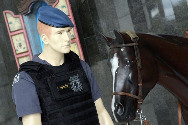 Exposição - Regimento de Polícia Montada 9 de Julho - Cavalaria