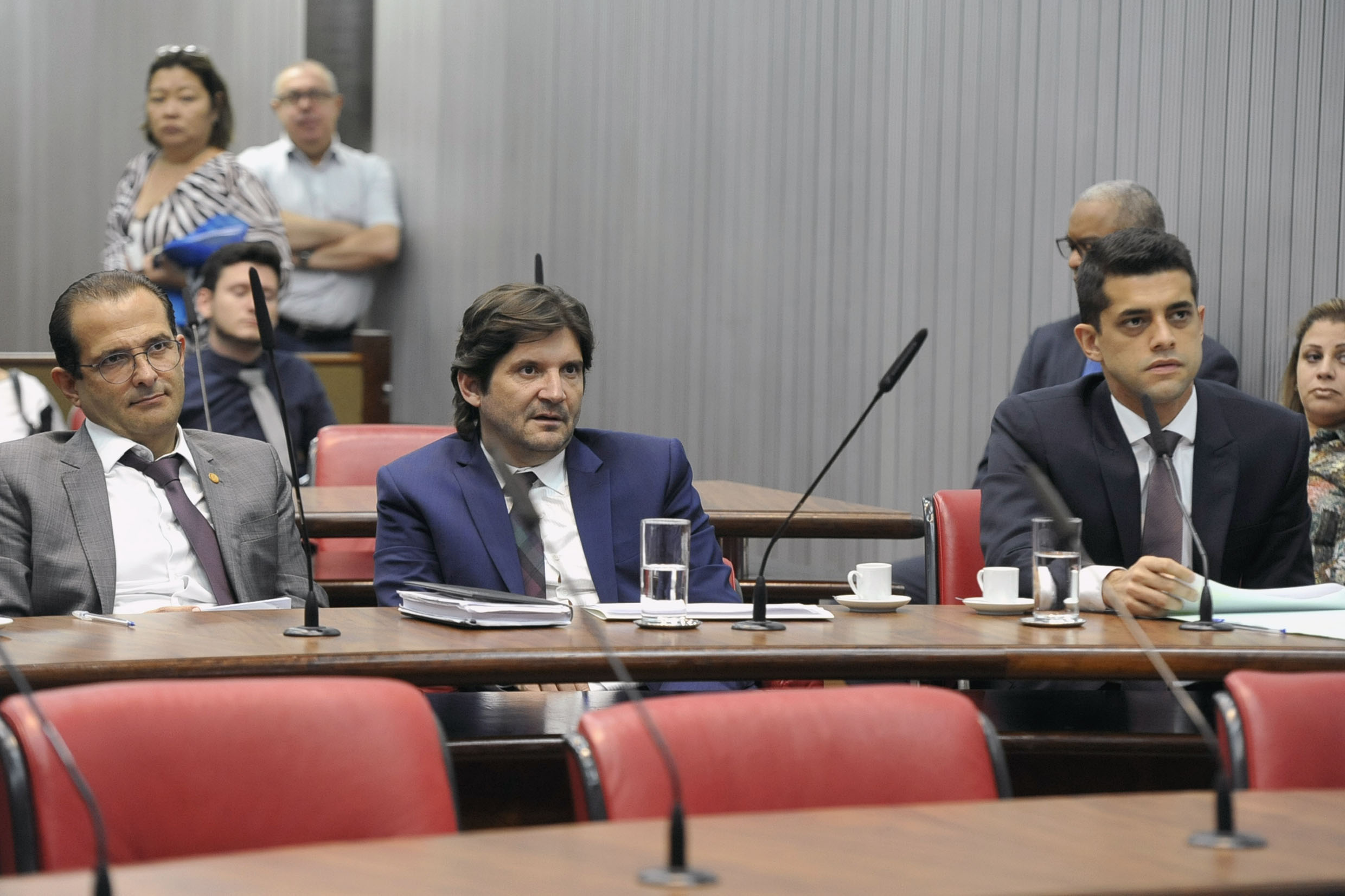 Parlamentares na comissão<a style='float:right' href='https://www3.al.sp.gov.br/repositorio/noticia/N-04-2019/fg233433.jpg' target=_blank><img src='/_img/material-file-download-white.png' width='14px' alt='Clique para baixar a imagem'></a>