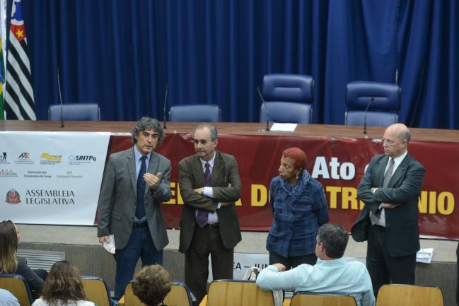 Carlos Giannazi, José Zico Prado, Leci Brandão, Carlos Neder