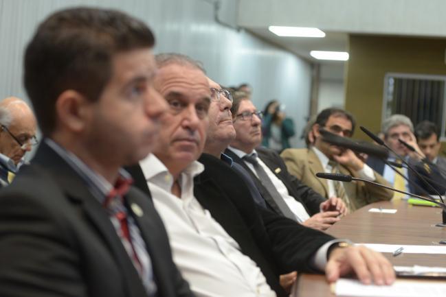Reunião da frente parlamentar.