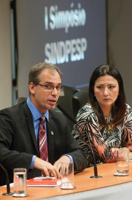 Rodolfo Laterza e Raquel Gallinati.