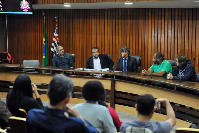 Eduardo Ribeiro, Alan Moreira, Carlos Giannazi, Romeu Miguel Rodrigues e Paulo Prati.
