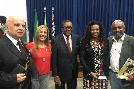 Assembleia sedia cerimônia do XII Prêmio África Brasil 2016