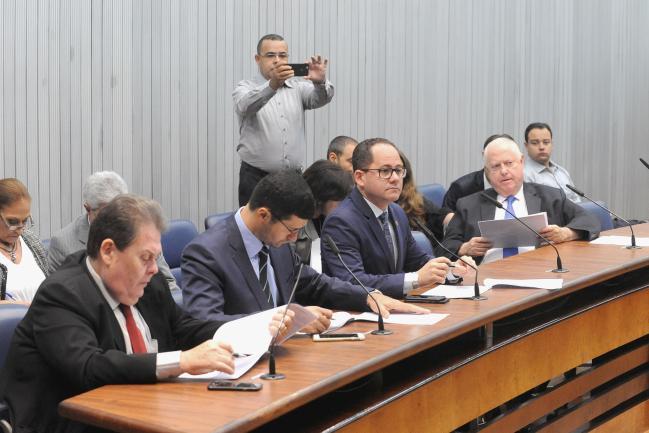 Roberto Morais, Cássio Navarro, Cezinha de Madureira e Barros Munhoz