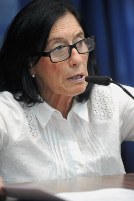Célia Leão preside a comissão