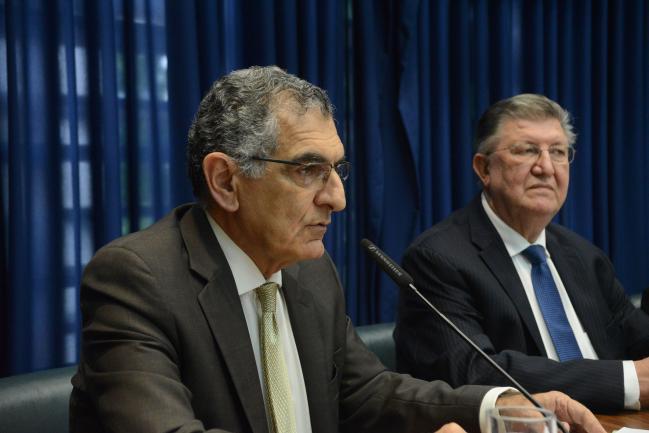Vahan Agopyan e Orlando Bolçone