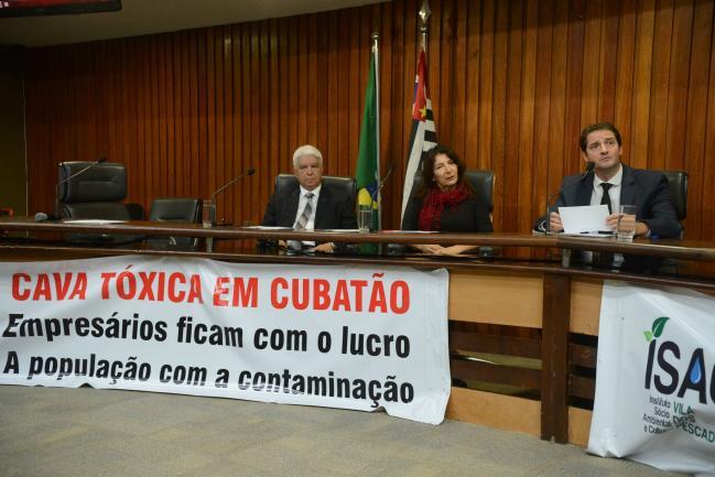Elio dos Santos, Silvia Sartor e Raul Marcelo