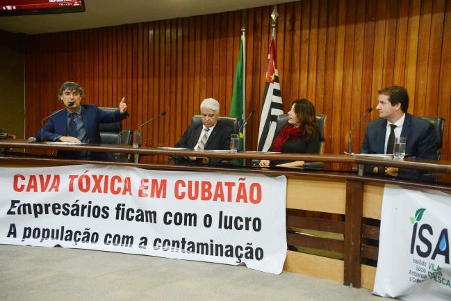 Carlos Giannazi, Elio dos Santos, Silvia Sartor e Raul Marcelo