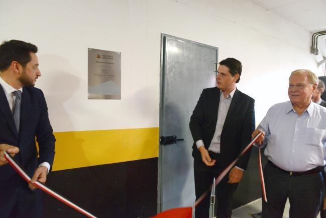 Inauguração do novo alojamento dos motoristas