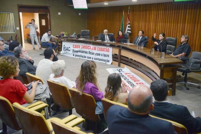 Audiência Pública Cava Tóxica de Cubatão