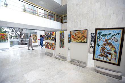 Exposição representa mulheres  nas culturas africana e brasileira