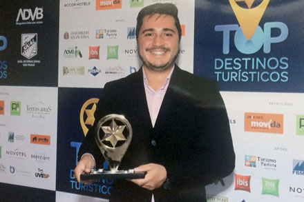 Bauru recebe Prêmio de Turismo da ADVB
