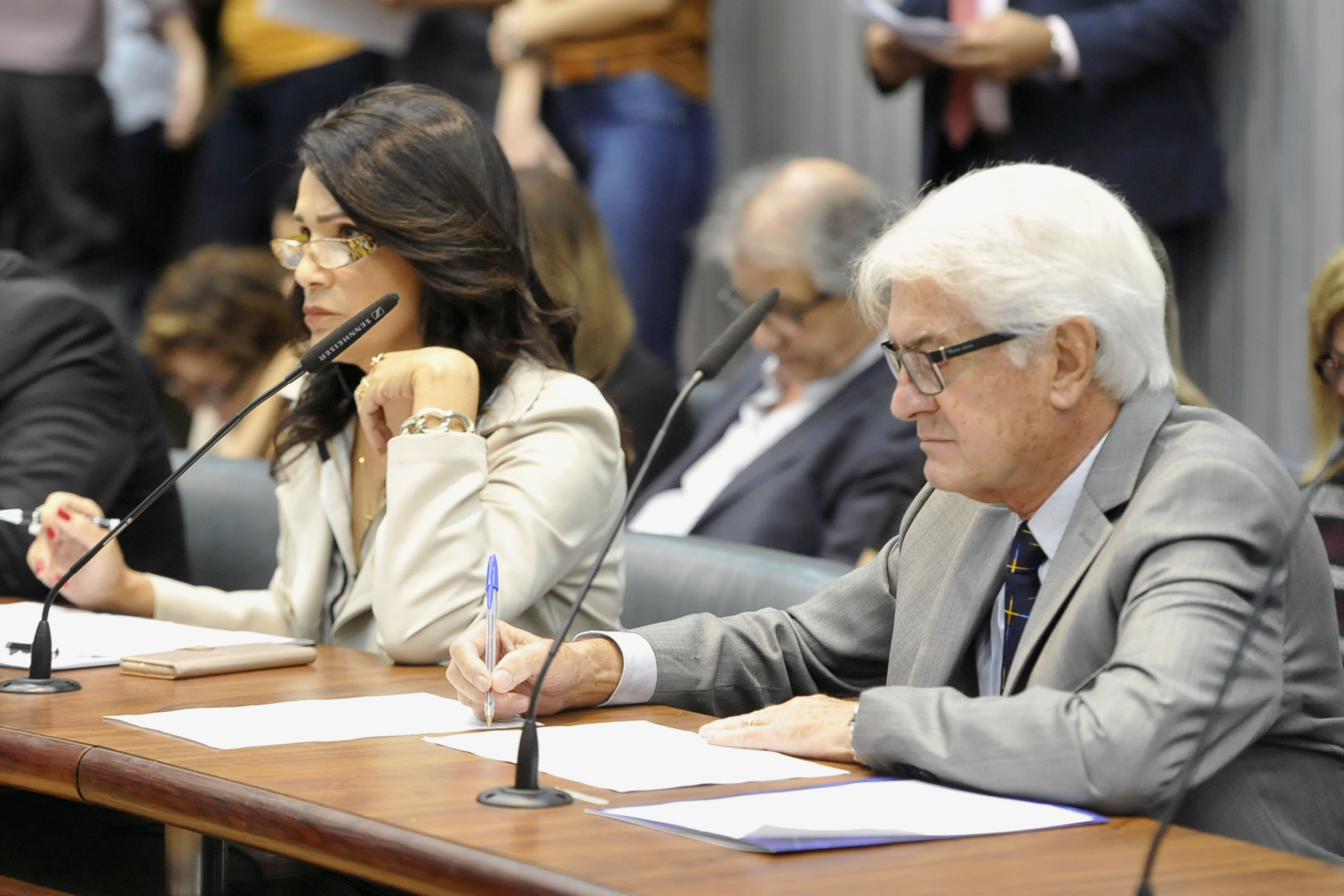 Parlamentares na comissão<a style='float:right' href='https://www3.al.sp.gov.br/repositorio/noticia/N-05-2019/fg234070.jpg' target=_blank><img src='/_img/material-file-download-white.png' width='14px' alt='Clique para baixar a imagem'></a>