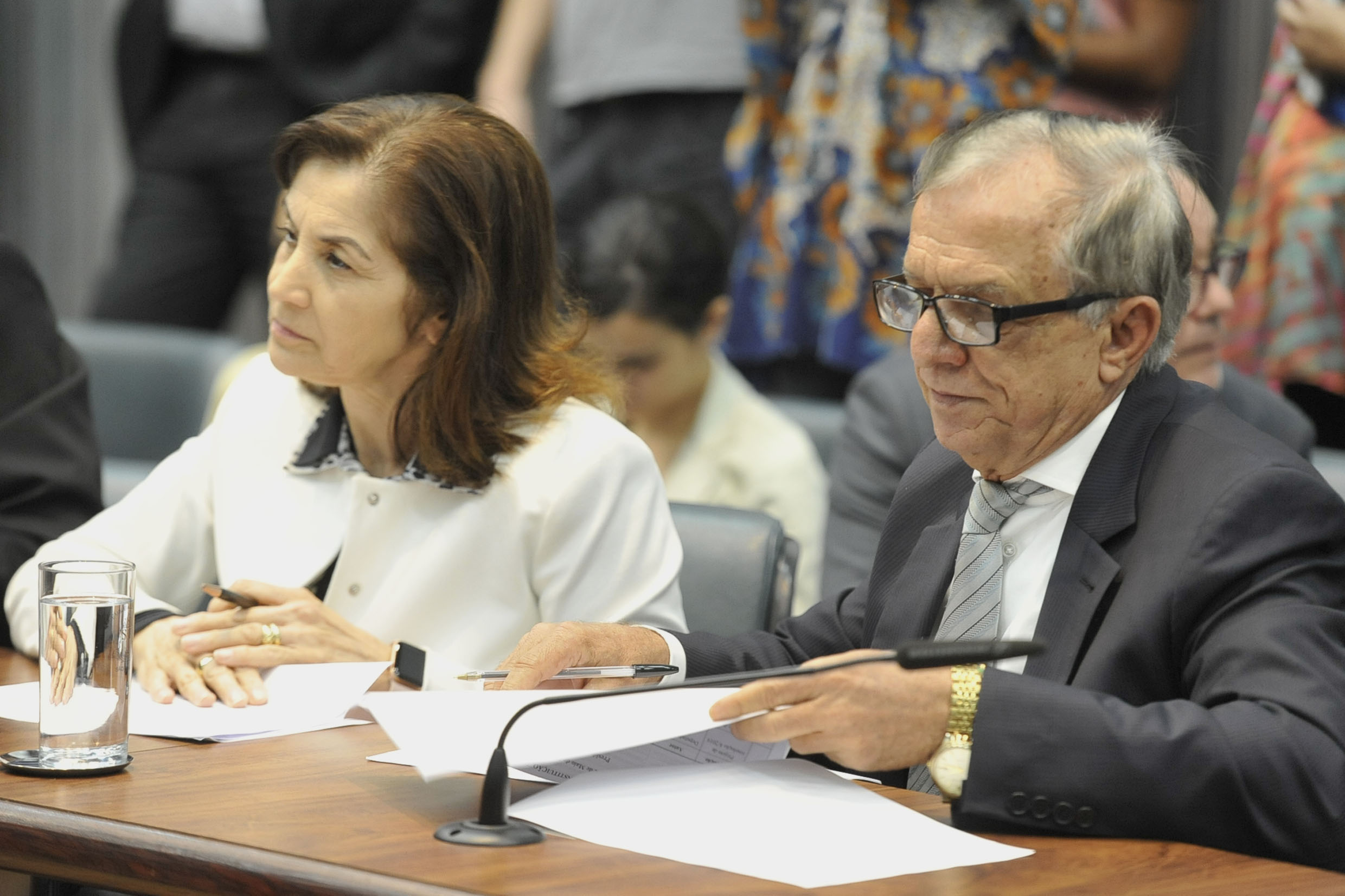 Parlamentares na comissão<a style='float:right' href='https://www3.al.sp.gov.br/repositorio/noticia/N-05-2019/fg234496.jpg' target=_blank><img src='/_img/material-file-download-white.png' width='14px' alt='Clique para baixar a imagem'></a>