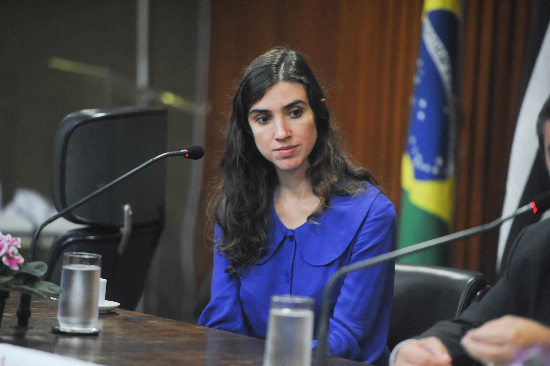 Chefe da Defensoria Pública da União no Estado de São Paulo, Nara de Souza Rivitti<a style='float:right' href='https://www3.al.sp.gov.br/repositorio/noticia/N-06-2016/fg190381.jpg' target=_blank><img src='/_img/material-file-download-white.png' width='14px' alt='Clique para baixar a imagem'></a>
