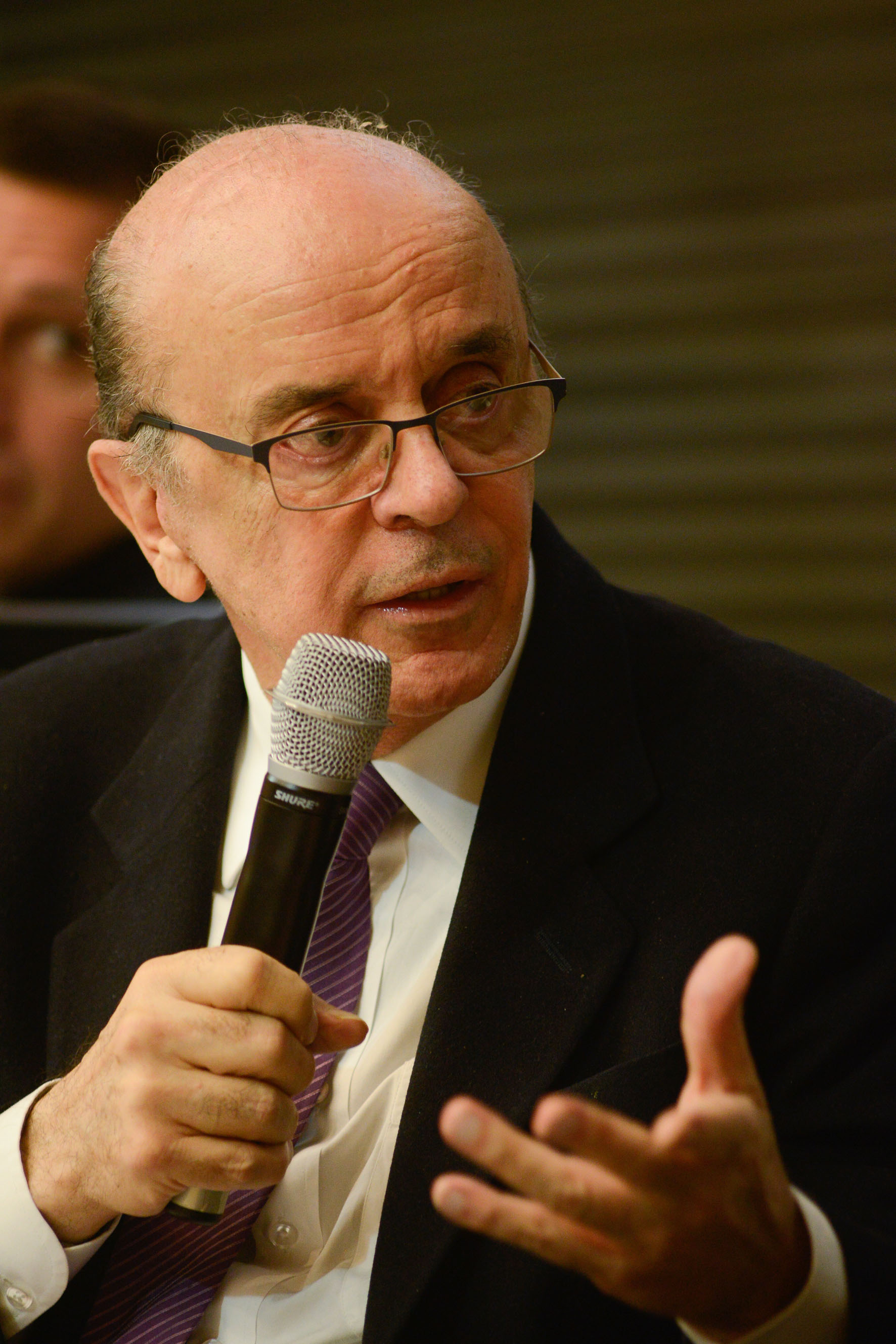 José Serra, ministro das Relações Exteriores, na comemoração do centenário Franco Montoro<a style='float:right' href='https://www3.al.sp.gov.br/repositorio/noticia/N-06-2016/fg192026.jpg' target=_blank><img src='/_img/material-file-download-white.png' width='14px' alt='Clique para baixar a imagem'></a>