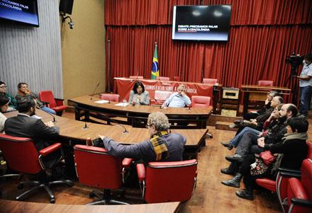 Cracolândia é debatida na Assembleia Legislativa