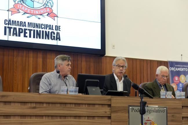 Mário Carneiro Neto, Edson Giriboni e Josué Alvares Pintor