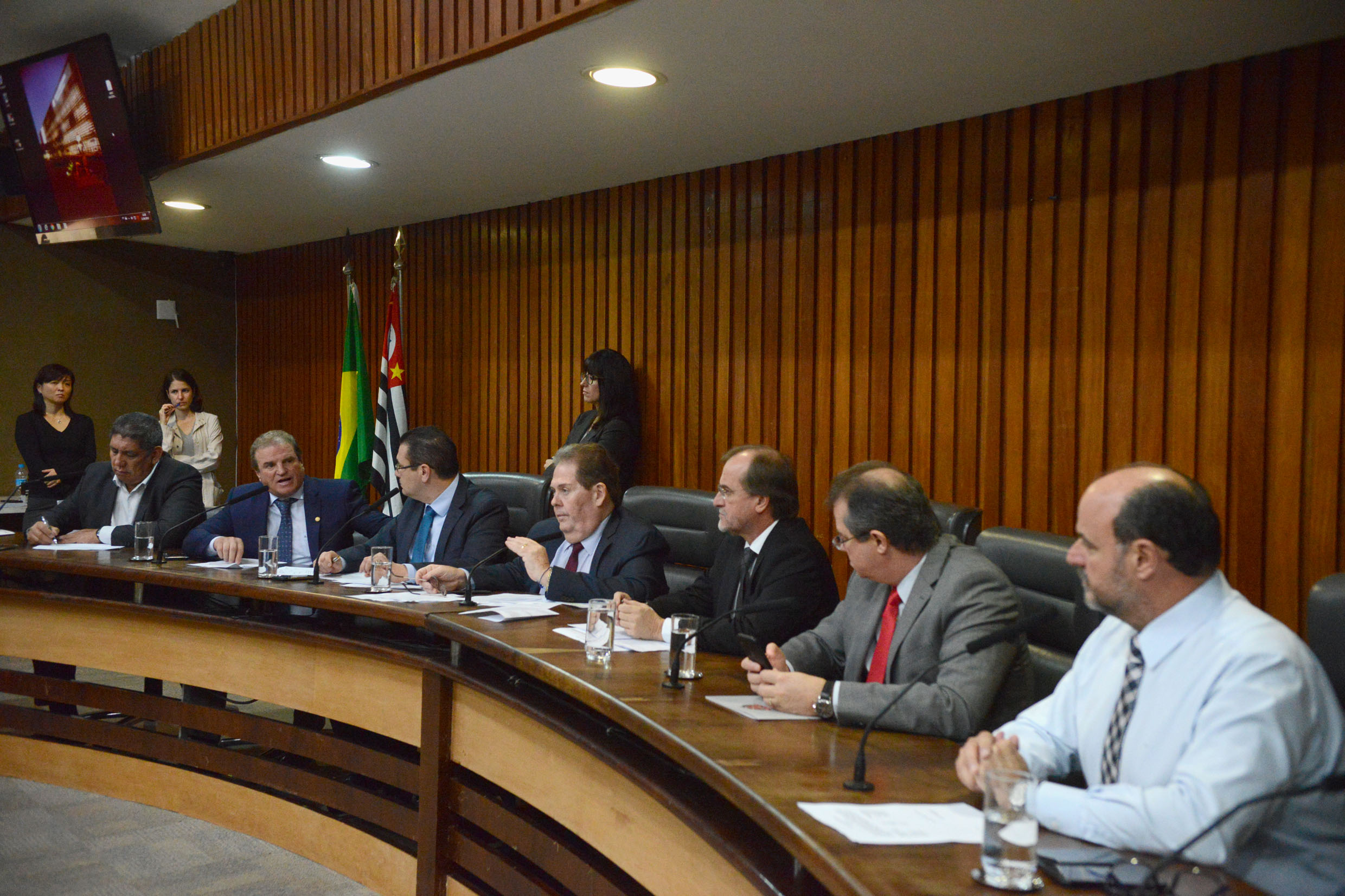 Parlamentares na CPI<a style='float:right' href='https://www3.al.sp.gov.br/repositorio/noticia/N-06-2019/fg235639.jpg' target=_blank><img src='/_img/material-file-download-white.png' width='14px' alt='Clique para baixar a imagem'></a>