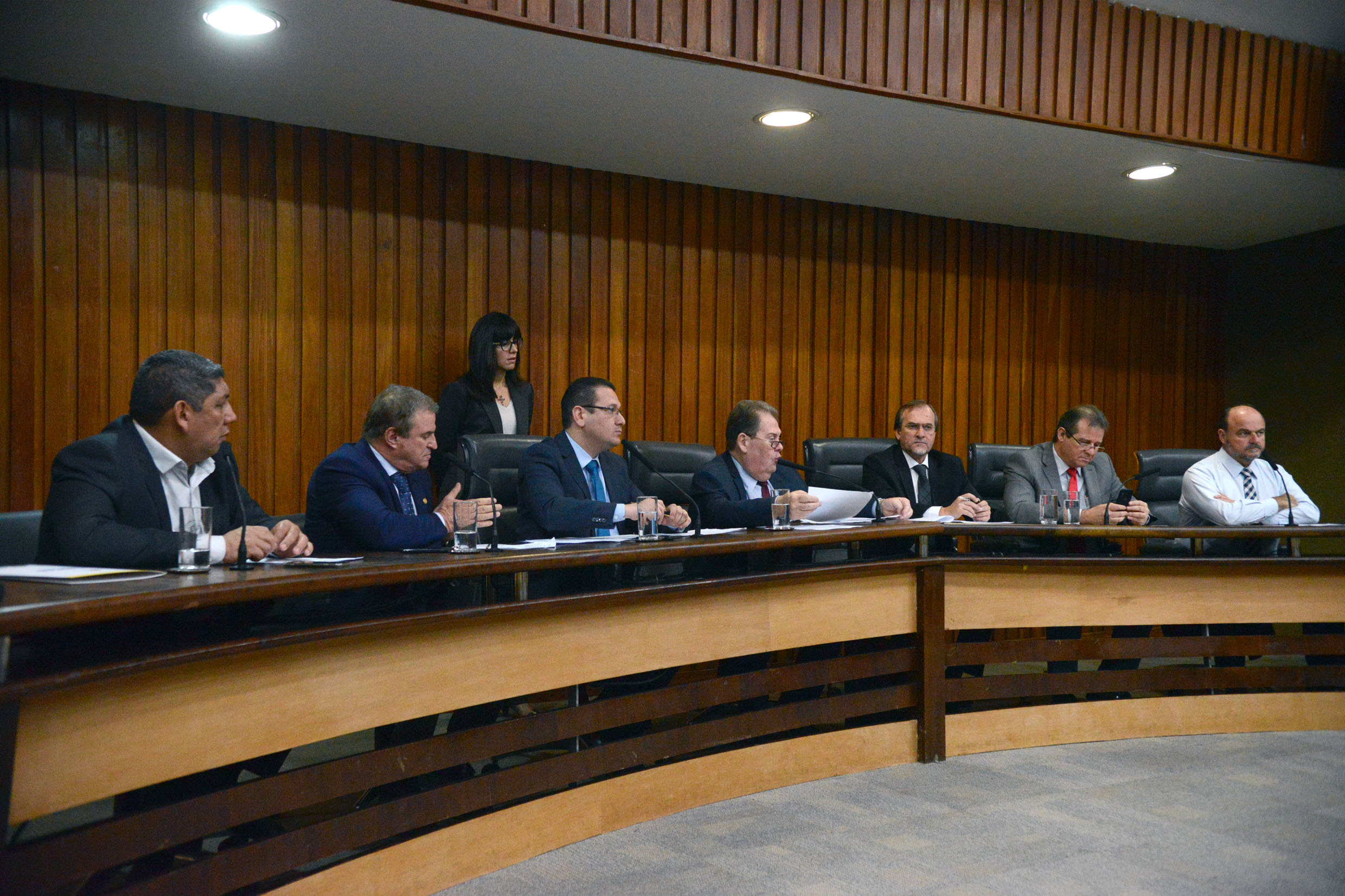 Parlamentares na CPI<a style='float:right' href='https://www3.al.sp.gov.br/repositorio/noticia/N-06-2019/fg235643.jpg' target=_blank><img src='/_img/material-file-download-white.png' width='14px' alt='Clique para baixar a imagem'></a>