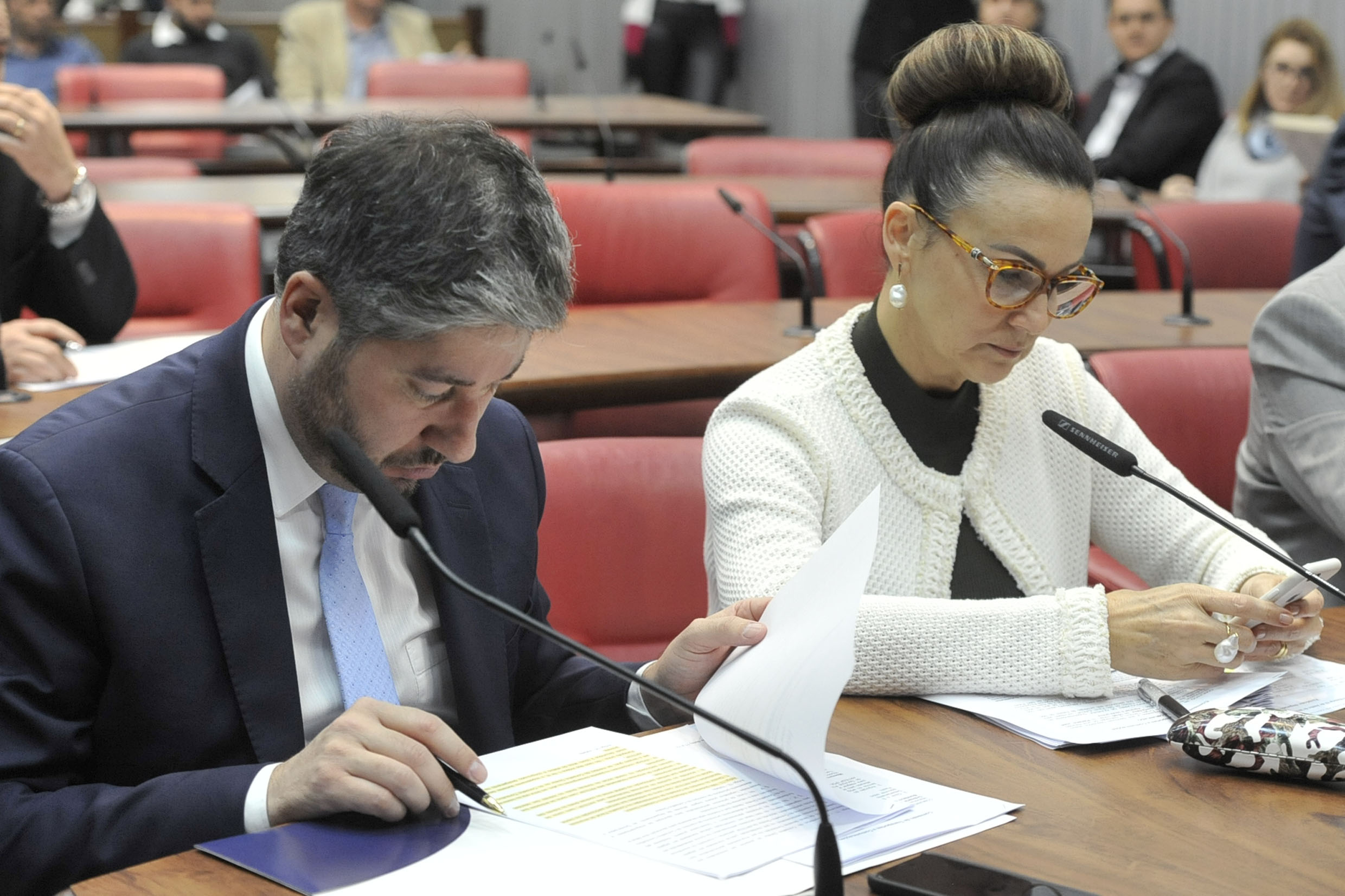 Fernando Cury e Analice Fernandes<a style='float:right' href='https://www3.al.sp.gov.br/repositorio/noticia/N-06-2019/fg235746.jpg' target=_blank><img src='/_img/material-file-download-white.png' width='14px' alt='Clique para baixar a imagem'></a>