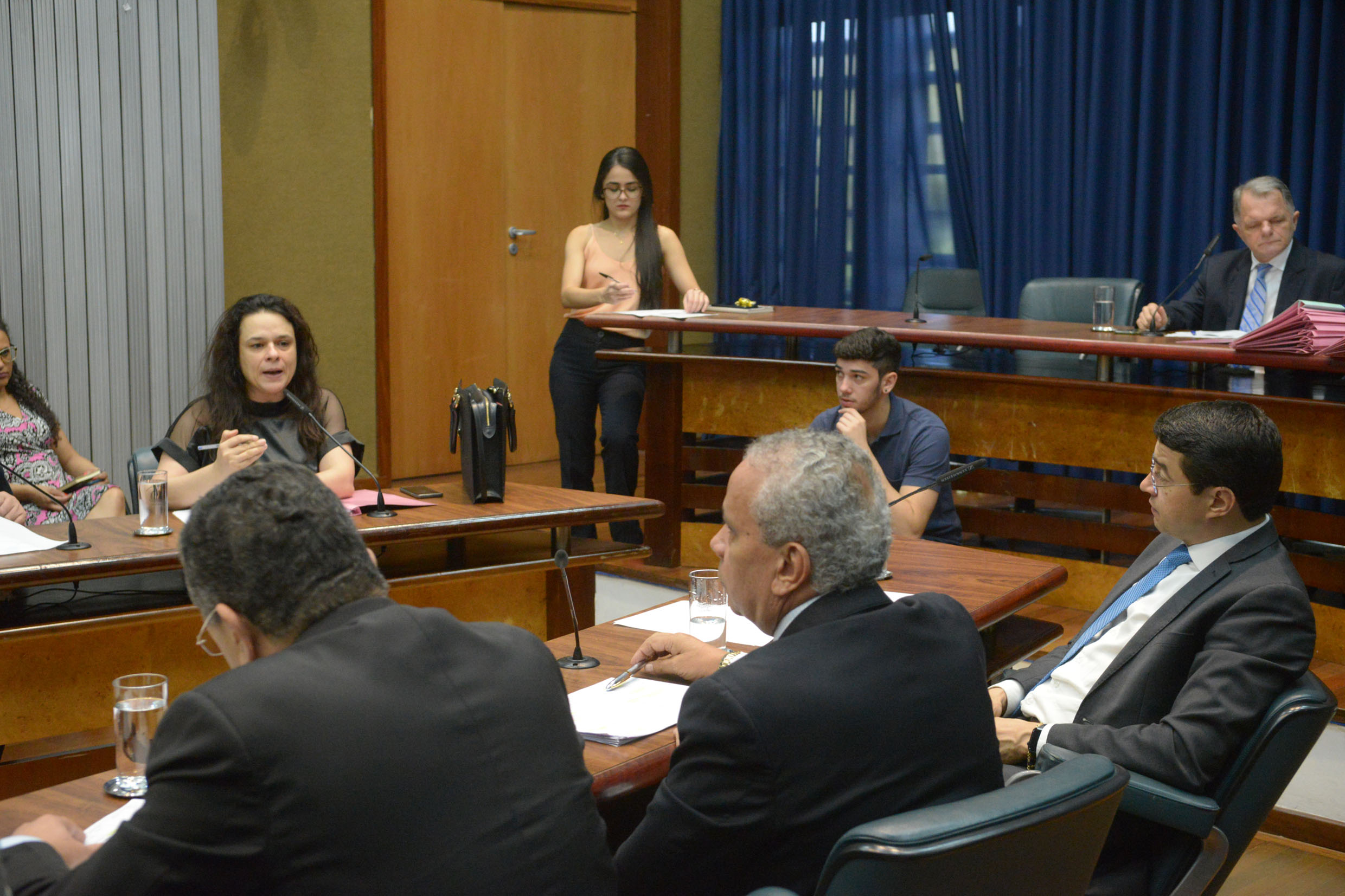 Parlamentares na comissão<a style='float:right' href='https://www3.al.sp.gov.br/repositorio/noticia/N-06-2019/fg236448.jpg' target=_blank><img src='/_img/material-file-download-white.png' width='14px' alt='Clique para baixar a imagem'></a>
