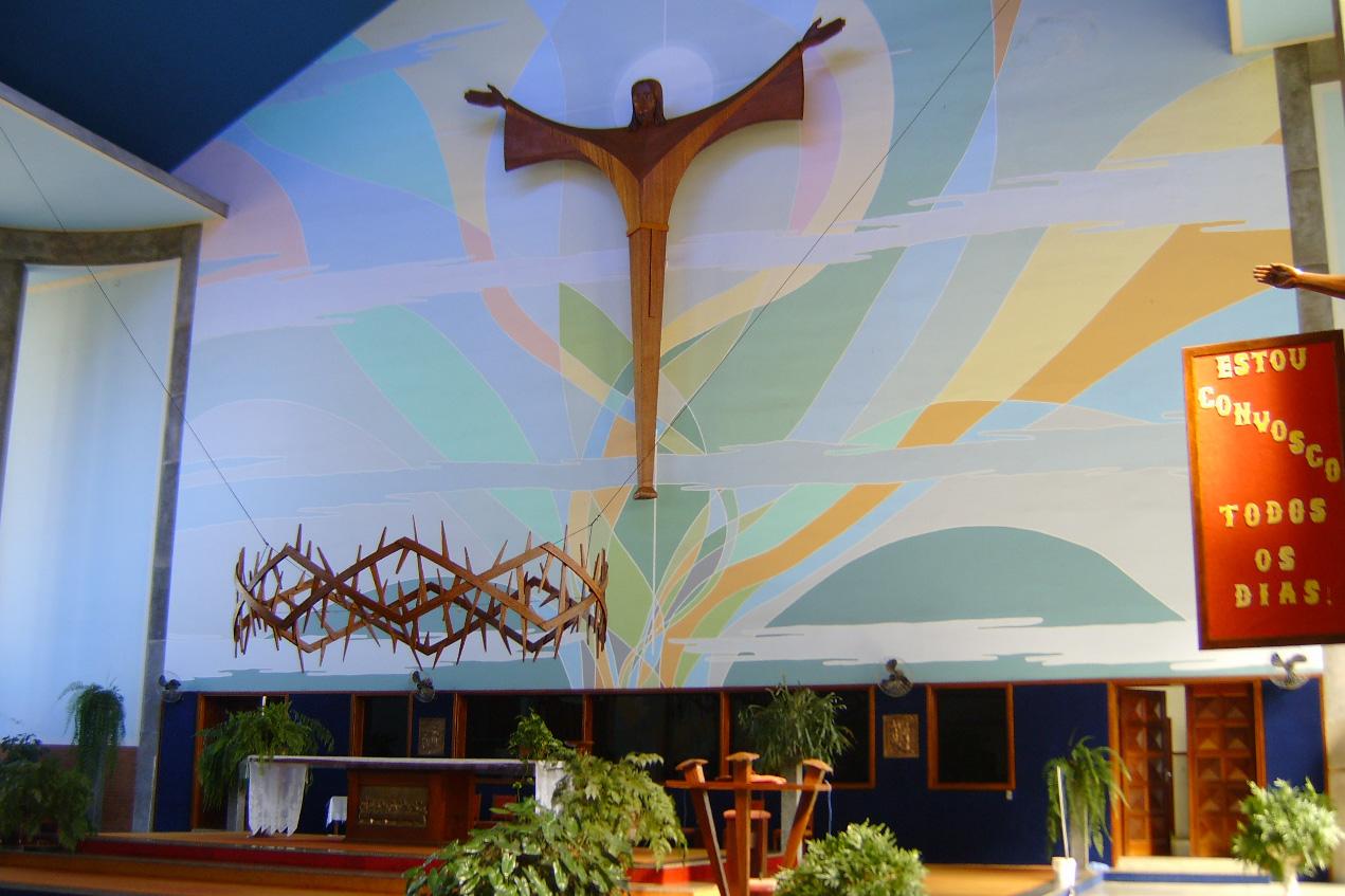 Altar da igreja matriz de São João Batista, em Olímpia<a style='float:right' href='https://www3.al.sp.gov.br/repositorio/noticia/N-07-2014/fg164353.jpg' target=_blank><img src='/_img/material-file-download-white.png' width='14px' alt='Clique para baixar a imagem'></a>