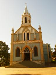 Em Olimpia, Igreja Nossa Senhora Aparecida
