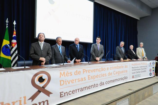 Audiência pública comemora Abril Marrom, mês de combate e prevenção aos diversos tipos de cegueira