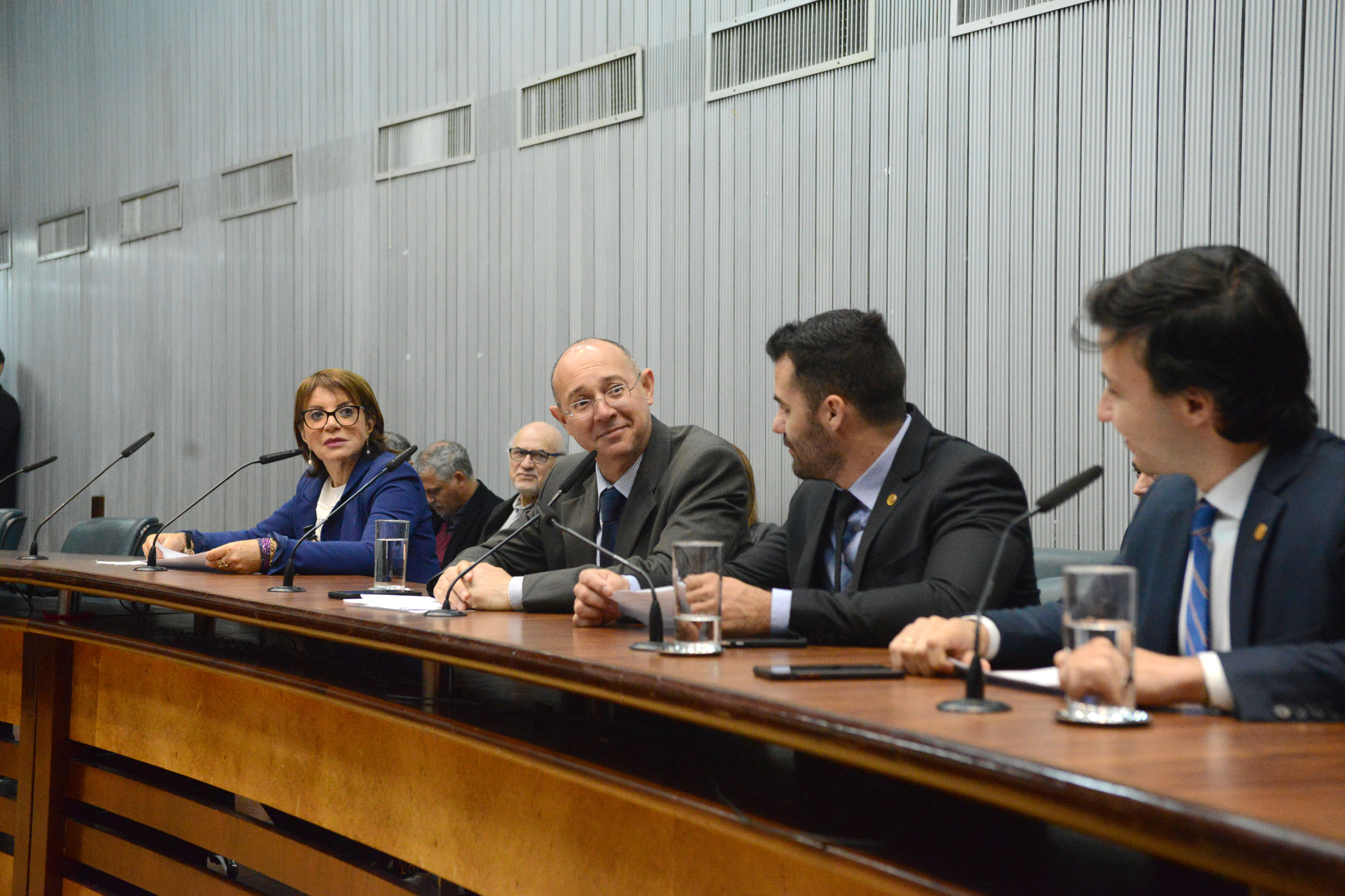 Professora Bebel, Paulo Fiorilo, Arthur do Val e Daniel José<a style='float:right' href='https://www3.al.sp.gov.br/repositorio/noticia/N-08-2019/fg237992.jpg' target=_blank><img src='/_img/material-file-download-white.png' width='14px' alt='Clique para baixar a imagem'></a>