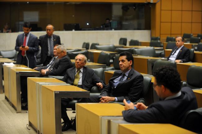 Deputados no plenário