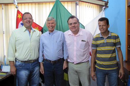 Visita ao município de Pontal