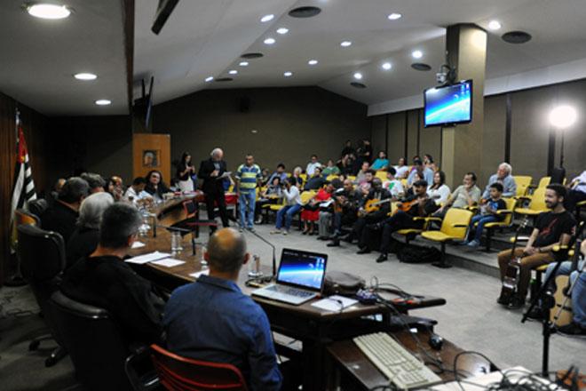 Dia do Violão é celebrado  na Assembleia Legislativa